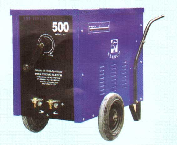 Máy hàn hồ quang 300 ÷ 500 MODEL - 01 điều chỉnh vô cấp