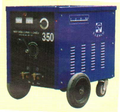 Máy hàn hồ quang 3 pha 1 chiều 250 ÷ 450 điều chỉnh vô cấp